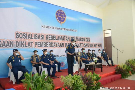 Kemenhub beri diklat dan sertifikasi kapal gratis di Kepulauan Seribu