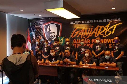 Relawan Ganjarist deklarasikan diri dukung Ganjar sebagai Capres 2024