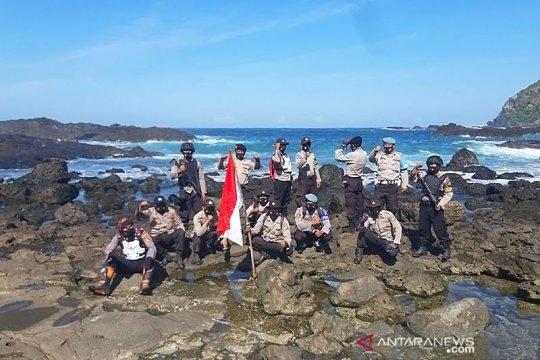 Polres Lombok Barat patroli pantau pulau terluar dekat Australia
