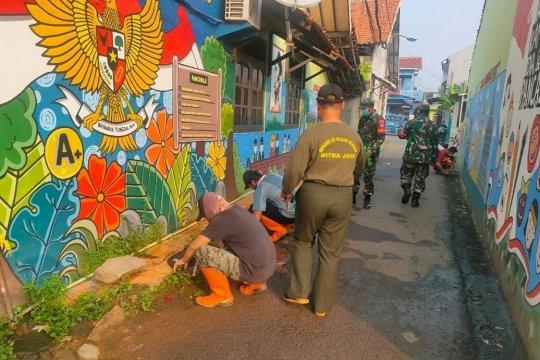 Peringati Hari Lahir Pancasila, Kodim Jaksel bersihkan lingkungan