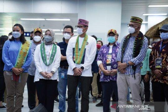 Tarian animal pop komodo upaya promosi parekraf Labuan Bajo