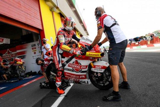 Federal Oil Indonesia harap tim FOGM2 bangkit di Moto2 Catalunya