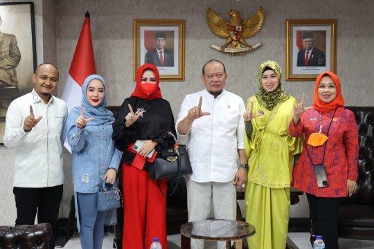 Ketua DPD RI LaNyalla ajak HAPSI tingkatkan perekonomian daerah