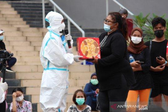 Peringatan hari Pancasila bawa pesan bersatu dari RSDC Wisma Atlet