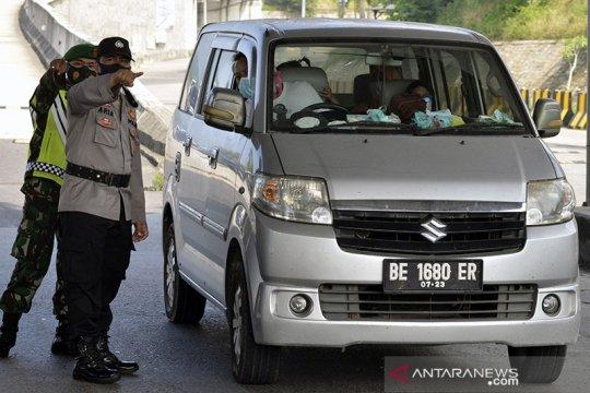 Ditemukan 1.296 kasus positif COVID-19 selama penyekatan di Lampung