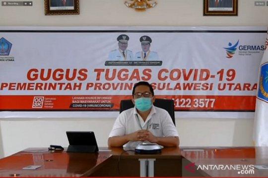 Kasus baru harian COVID-19 di Sulut bertambah empat kasus