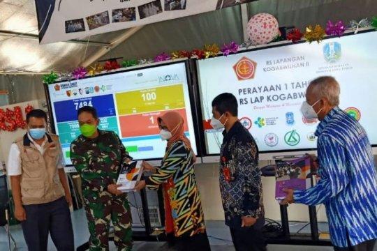 Abadikan setahun tangani COVID-19, RSLI Surabaya terbitkan lima buku