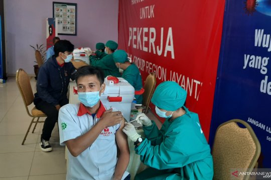 Penerima vaksin lengkap warga Indonesia bertambah 138.684 jiwa