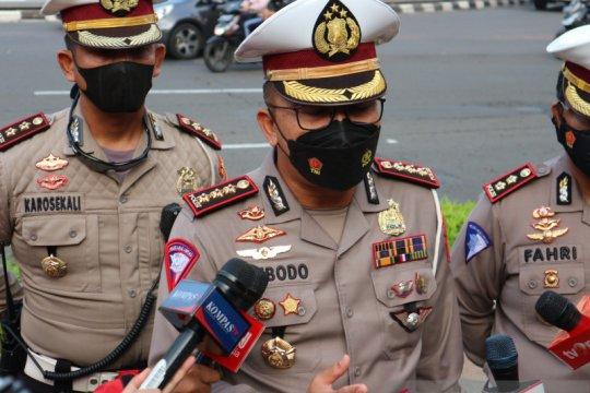 Polda Metro Jaya mulai tertibkan pesepeda keluar jalur