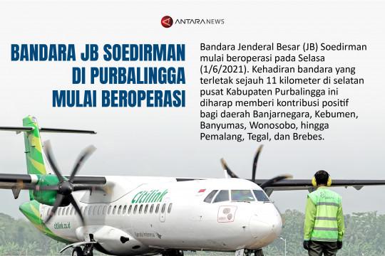 Bandara JB Soedirman di Purbalingga mulai beroperasi