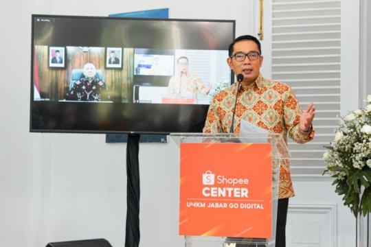 Ridwan Kamil apresiasi komitmen Shopee majukan produk UMKM nasional
