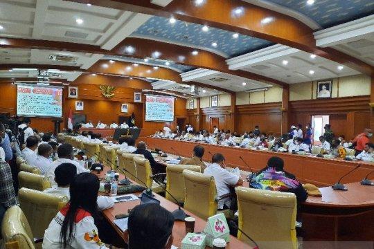Pemprov Papua gelar rapat persiapan kabupaten/kota penyelenggara PON