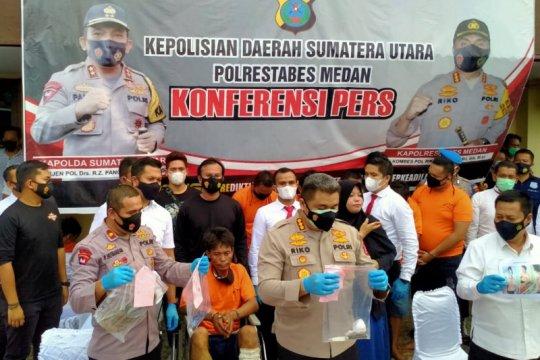 Polisi ringkus pelaku begal sadis di lampu merah Kota Medan