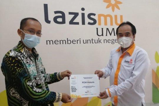 PCIM Malaysia serahkan bantuan Peduli Palestina ke Lazismu Pusat
