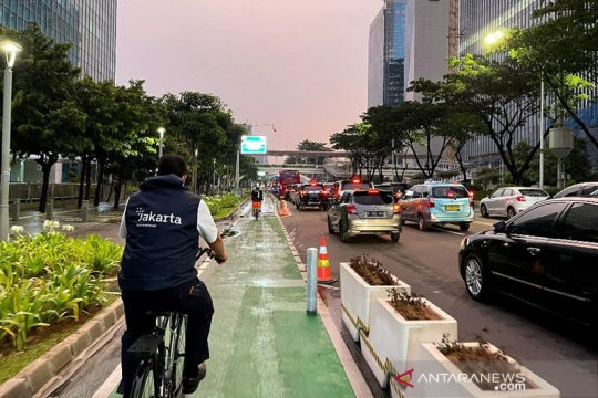 Jakarta kemarin, rencana tambah jalur sepeda hingga sekolah tatap muka