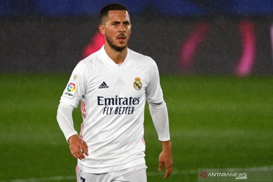 Eden Hazard bantah kabar soal dirinya tidak bahagia di Real Madrid