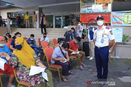 Bus keliling telah vaksinasi 2.647 warga Pekanbaru