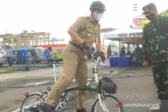 Wali Kota Jakarta Utara imbau pesepeda mengalah dengan kendaraan besar