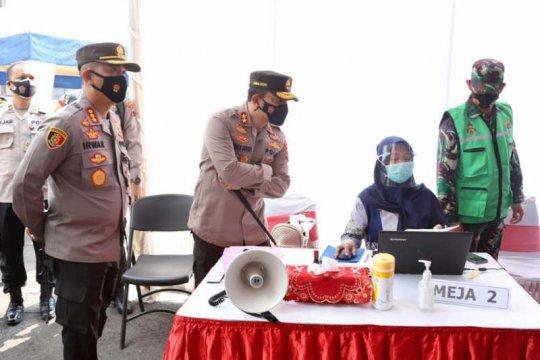 Polrestabes Semarang sebut sudah tak ada personel positif COVID