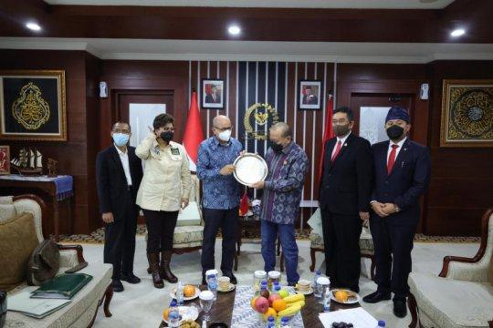 Indonesia dapat tawaran kerja sama sepak bola dari Maroko