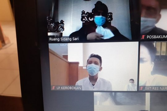 Penyalahguna narkotika dituntut 13 tahun penjara di PN Denpasar Bali