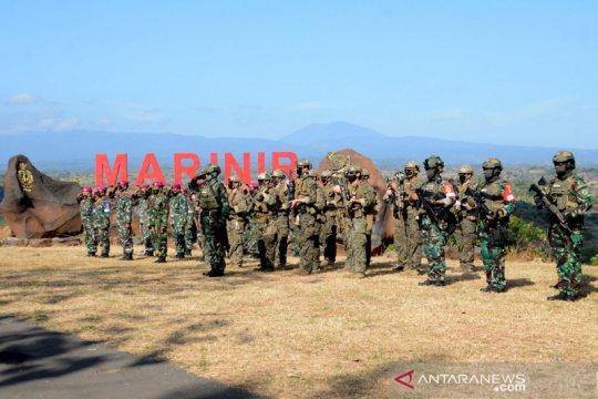 Marinir Indonesia latihan bersama Marinir Amerika Serikat di Situbondo
