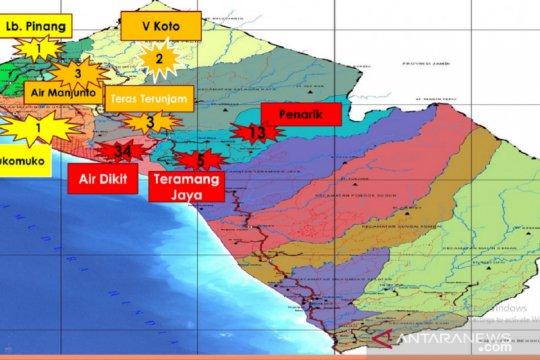 Tiga kecamatan di Mukomuko zona merah COVID-19