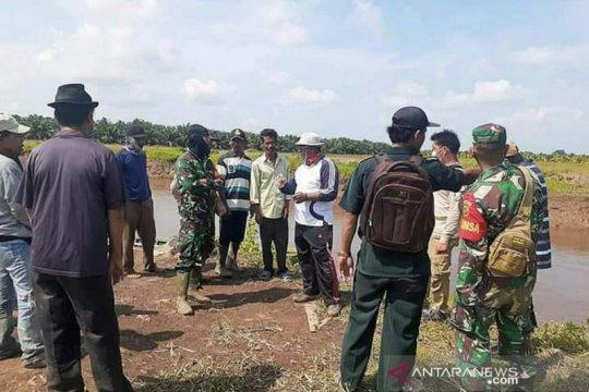 Polisi: Korban diterkam buaya di Banyuasin belum ditemukan