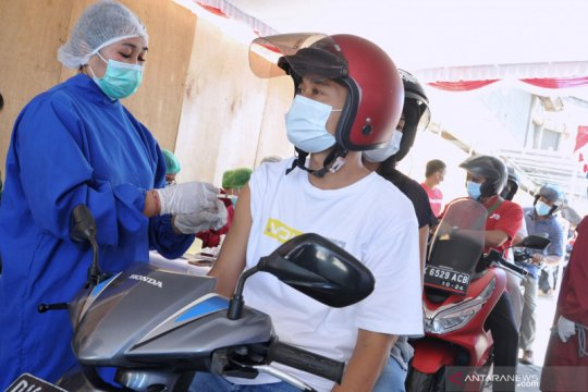 Warga Indonesia penerima vaksin lengkap bertambah 70.654 jiwa