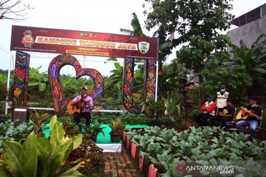 Lomba kreativitas di Kampung Tangguh COVID-19