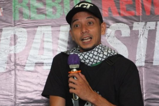 Fauzi Baadila ajak masyarakat ambil peran untuk Palestina