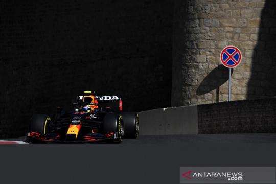 FP2 GP Azerbaijan: Perez pimpin 1-2 Red Bull, Ferrari masih membayangi