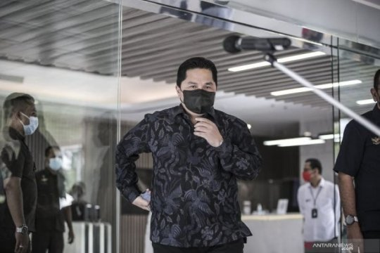 Erick Thohir dorong perusahaan BUMN kembangkan kreatifitas dan inovasi