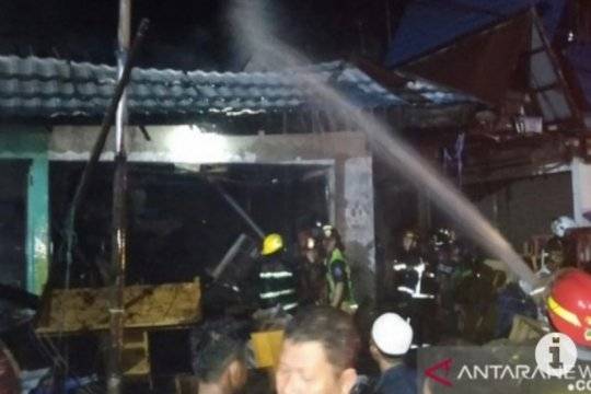 Polres Banjar selidiki kebakaran Pasar Thaibah Martapura