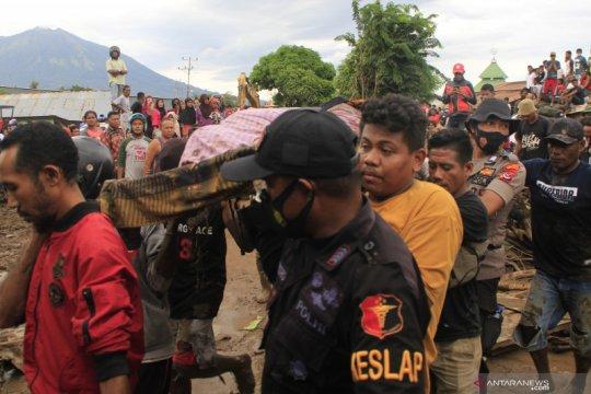 Satu korban banjir bandang Nelelamadike Flotim ditemukan