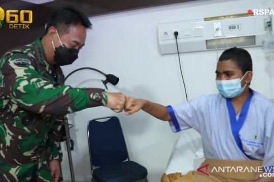 Kasad Andika Perkasa semangati anak prajurit penderita tumor di kepala