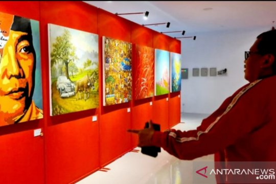 Megawati akan buka pameran lukisan Bulan Bung Karno di Yogyakarta