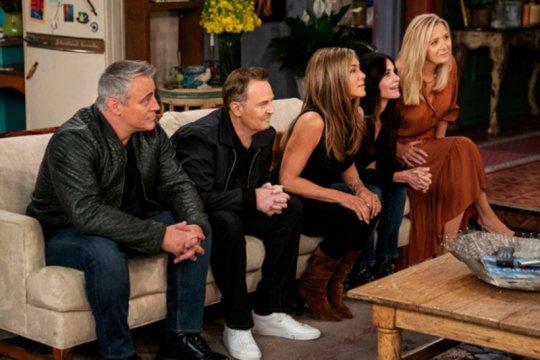 """Set serial """"Friends"""" akan dilelang jadi aset NFT"""