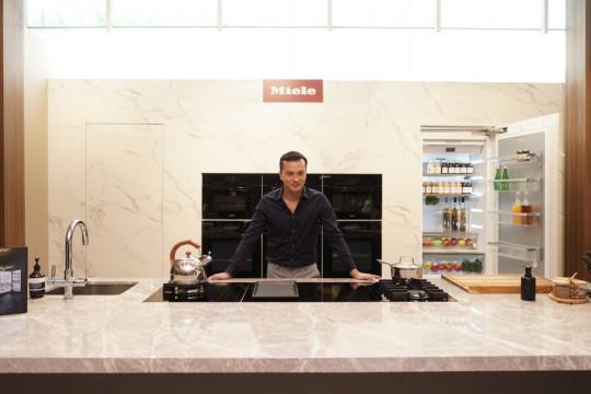 """Mengintip inspirasi peralatan dapur """"built-in"""" modern"""