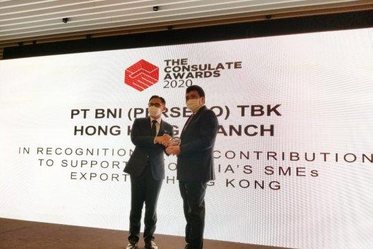 BNI peroleh Consulate Award 2020 dari KJRI Hong Kong