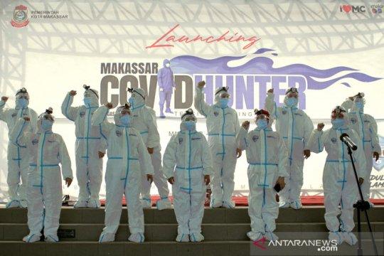Ini dia satgas pemburu COVID-19 Makassar
