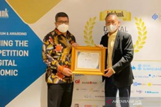 Bank Banten raih penghargaan Infobank Digital Brand Award 2021