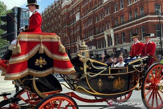 Dubes RI serahkan surat kepercayaan kepada Ratu Inggris Elizabeth II