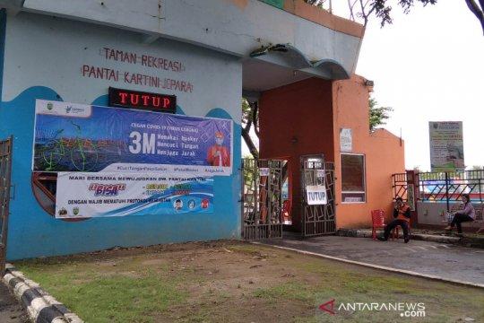 Seluruh objek wisata di Kabupaten Jepara ditutup