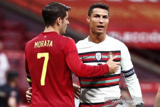 Jelang Piala Eropa : Spanyol vs Portugal