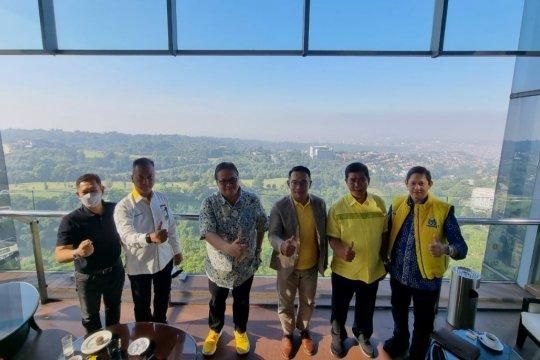 Pakar: Pertemuan Airlangga-Ridwan Kamil tak bisa Lepas Pemilu 2024