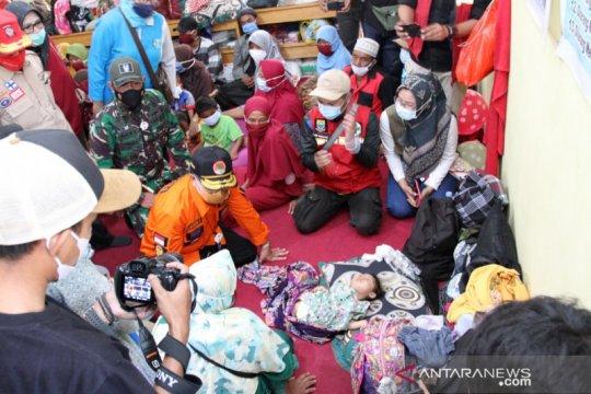 BPBD catat jumlah pengungsi longsor Cibeber-Cianjur bertambah