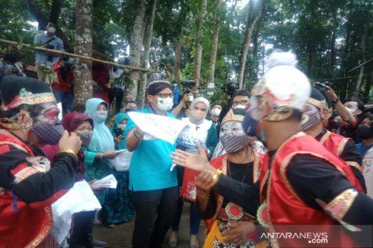 Menparekraf: Kebangkitan pariwisata dimulai dari desa wisata