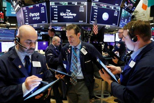 Saham Wall Street dibuka lebih tinggi setelah rilis data pekerjaan AS