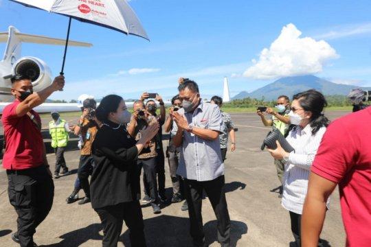 Puan Maharani lakukan kunjungan kerja ke Sulut